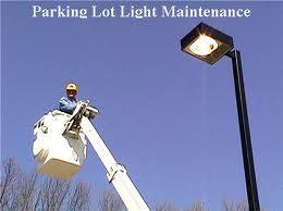 Parking lot lighting service 2