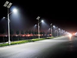 solar parking lot lights